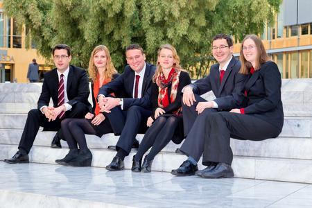 : Andreas Dewes, Nina Margies, Richard Kirchberg, Elisabeth Schwerdtfeger, Jan Steglich, Carina Geldhauser (v.l.n.r.)