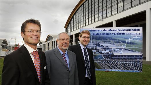 Messe Friedrichshafen stellt wichtige Weichen für die Zukunft