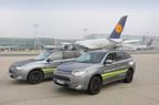 Fraport testet Plug-in Hybrid Outlander