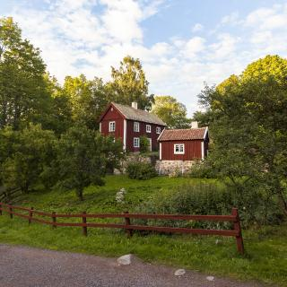 Häuser in Südschweden © Christoffer Collin_imagebank.sweden.se