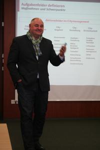 Reinhard Skusa, Citymarketing Aalen
