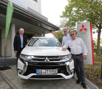 """mitsubishi beteiligt sich in hessen bei """"ekommunal"""" - mmd automobile"""