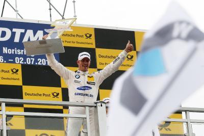 Maxime Martin, DTM 2017, Norisring