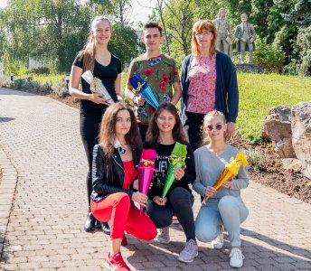 Neue Auszubildende und Studierende Bad Sulza 2021 / Bild: (C) Toskanaworld