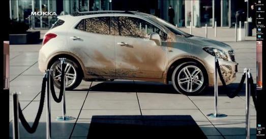 Allrad macht Spaß: So sieht der Opel Mokka nach einer Landpartie mit Jürgen Klopp am Lenkrad aus