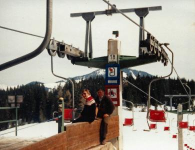 Alte Sesselbahn