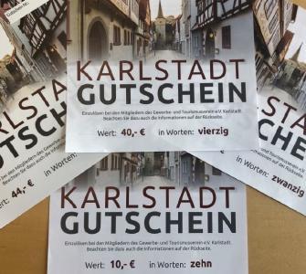 Stadtmarketing Karlstadt etabliert Stadtgutschein / Foto: Caroline Janke