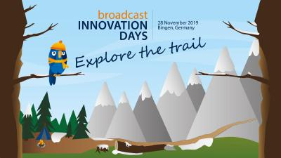 Explore the trail – Broadcast Innovation Days bei Broadcast Solutions in Bingen, 28. November
