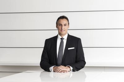 Hans Jürgen Kalmbach, Vorstandsvorsitzender der Hansgrohe SE