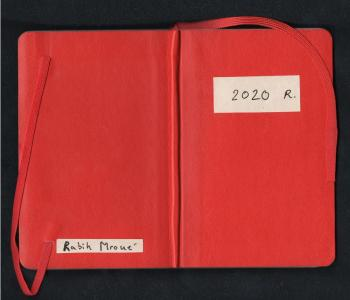 Rabih Mroué, A reconstruction of a diary, 2020