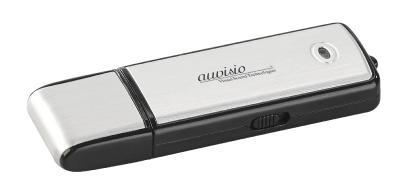 auvisio Voice Recorder & USB-Stick REC-200 V2, geräuschaktivierte Aufnahme, 70 Std., 8 GB / Bild: PEARL.GmbH / www.pearl.de