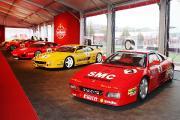 Ferrari präsentiert in Monza sämtliche Sportwagen des Herstellers, die bei der Ferrari Challenge seit 1993 starteten sowie die eigens dafür entwickelten Pirelli Reifen