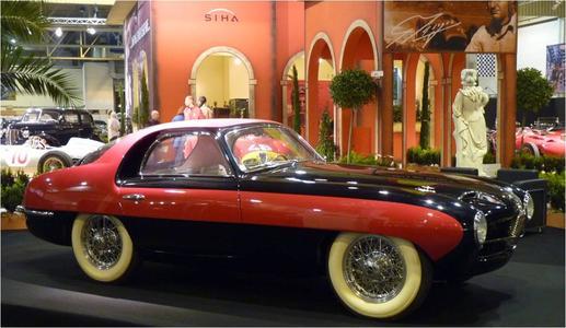 Techno Classica 2012: Weltrekord mit Pegaso-Sportwagen