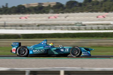Alexander Sims, FIA Formula E Championship, Test, Valencia