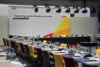 Angela Merkel in Certified-Hotel
