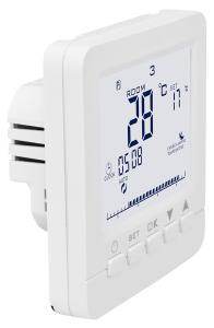 revolt WLAN-Thermostat für Fußbodenheizung, komp. zu Alexa & Google Assistant