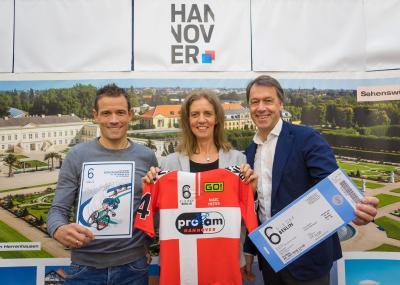 Grischa Niermann, Stefanie Eichel und Hans Christian Nolte freuen sich auf den Start des ProAm Teams in Berlin!