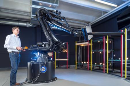 Das neue Robogoniometer im Einsatz