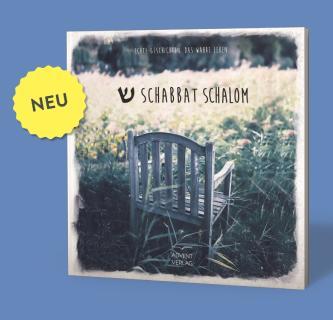 Das Buch Schabbat Schalom ist das Ergebnis einer Kooperation von Hope Media Europe und dem Advent-Verlag, Lüneburg