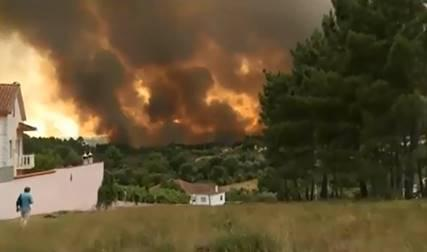 Waldbrände in Portugal (18. Juni 2017) / © Foto: 20minutos.es/Wikimedia Commons