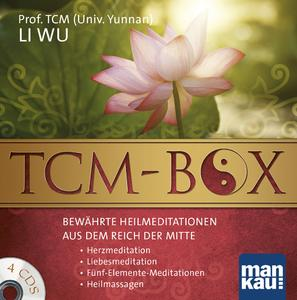 TCM-Box: Bewährte Heilmeditationen aus dem Reich der Mitte (4 Audio-CDs)
