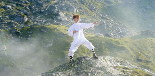 Mystische Szenenbilder im Stil von Kung-Fu-Filmen waren Hauptbestandteil des Drehs zum Kampagnenspot 2016. © handwerk.de/BIGFISH Filmproduktion GmbH