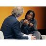 Dr. Auma Obama, sister of the US President, fascinates over 650 guests in a sell-out event at BMW Welt