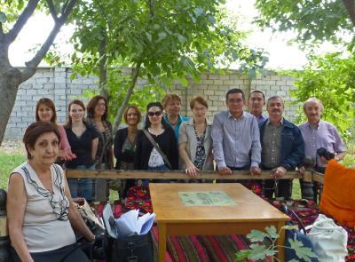 Projektmeeting in Samarkand am Isaev-Forschungsinstitut für medizinische Parasitologie / Fotograf / Quelle: TH Wildau / Katrin Kuhls
