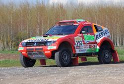 Mitsubishi im Marathon-Rallye-Sport, Central Europe Rally