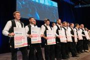 Handwerkerinnen und Handwerker aus zwölf Gewerken erhielten ihre Meisterbriefe (Foto: Susanne Gnamm)