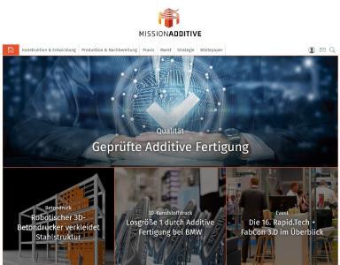 "Neues Portal ""Mission Additive"""
