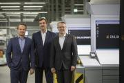 Das neue Geschäftsführungs-Team der Onlineprinters-Gruppe (von links): CFO Dirk A. Müller, CCO Christian Würst und CEO Dr. Michael Fries, Copyright: Onlineprinters GmbH