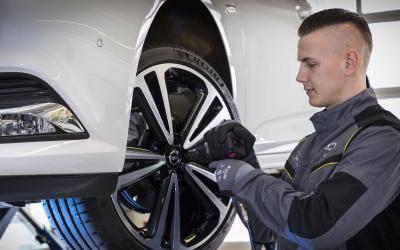 Opel Scheibenwischer Service