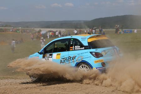 Bekanntes Terrain: Kevin Müller ist einer von vier deutschen Fahrern mit ADAC Opel Rallye Cup-Erfahrung