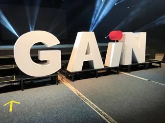 Bühne der GAiN-Konferenz 2017 © Foto: Herbert Bodenmann/APD Schweiz
