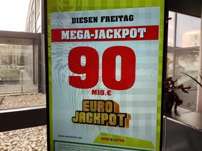 Wie geht es mit dem 90-Millionen-Jackpot weiter?