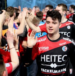 HC Erlangen - ein großes Talent ist der erst 20-jährige Benedikt Kellner (Jocki_Foto, Erlangen)