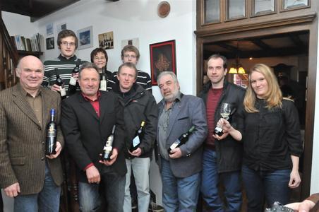 Preisträger der Weintrophy 2010 aus dem Remstal (Fotograf: Hans Schwaderer)
