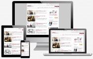 Darstellung des responsiven Designs von www.amsel.de auf verschiedenen Endgeräten
