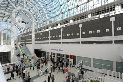 Frankfurter Messegelände zur IMEX (Foto: Tourismus+Congress GmbH Frankfurt am Main )
