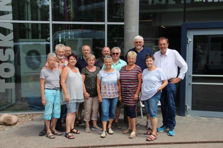 Die Bad Camberger Delegation vor der Toskana Therme Bad Sulza | © Toskanaworld