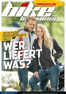 """Die Titelseite der Sonderausgabe """"wer liefert was?"""" (Quelle: bike und business)"""