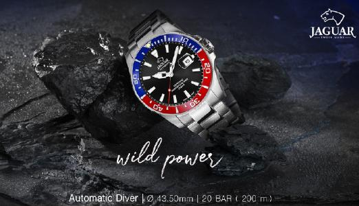 Jaguar Diver Kollektion J886/4