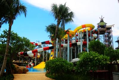 Qizibay, China Thrills With Signature Waterslides