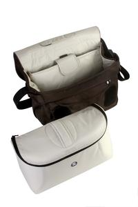 fully removable photo pouch with extra padding and internal dividers