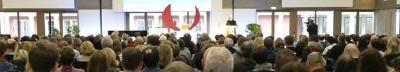 Teilnehmende auf dem 6. Christlichen Gesundheitskongress in Kassel, © Foto: Holger Teubert/APD