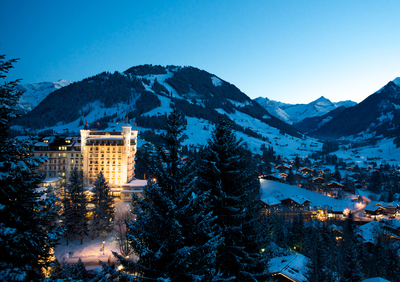Gstaad Palace - Magic in the Mountains...