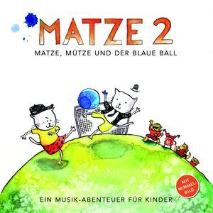 Cover zu Matze, Mütze und der blaue Ball - Jazz-CD für Kinder