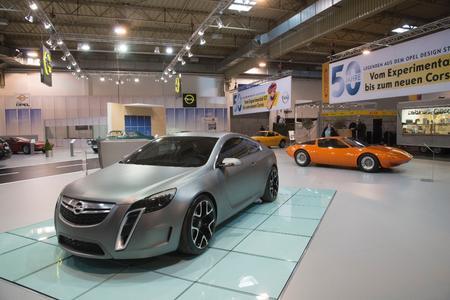 """Aus dem Jahr 2007: Mit dem GTC Concept begann eine neue Zeit bei Opel – """"Skulpturales Design trifft deutsche Ingenieurskunst"""" beschreibt die neue Opel-Design-Philosophie © GM Company"""
