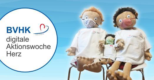 Digitale Aktionswoche Herz Bundesverband Herzkranke Kinder e.V.